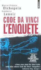 Code Da Vinci : L'Enquete - Intérieur - Format classique