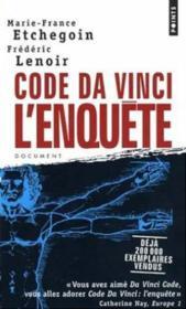 Code Da Vinci : L'Enquete - Couverture - Format classique