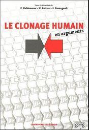 Le Clonage Humain ; En Arguments - Intérieur - Format classique