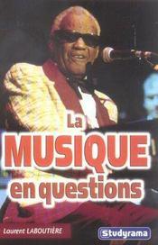 La Musique En Questions - Intérieur - Format classique