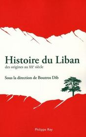 Histoire du liban - Intérieur - Format classique