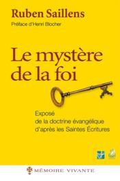 Le mystère de la foi - Couverture - Format classique