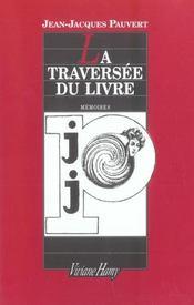 Traversee Du Livre (La) - Intérieur - Format classique