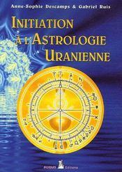 Initiation à l'astrologie uranienne - Couverture - Format classique