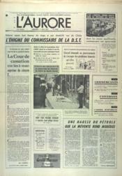 Aurore (L') N°9569 du 11/06/1975 - Couverture - Format classique