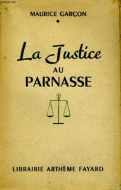 La Justice Du Parnasse. - Couverture - Format classique