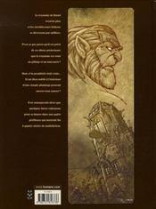 Sans dieu t.3 ; le pic du vautour - 4ème de couverture - Format classique