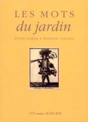 Les Mots Du Jardin - Couverture - Format classique