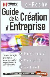 E-poche guide creation d'entreprise - Intérieur - Format classique