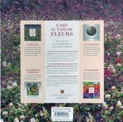 Art Du Tapis De Fleurs (L) Nlle Edt - 4ème de couverture - Format classique
