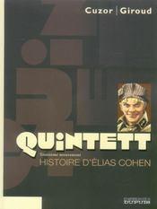 Quintett t.3 ; histoire d'Elias Cohen - Intérieur - Format classique