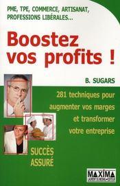 Boostez vos profits ! - Intérieur - Format classique