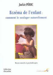 Eczema ; comment soulager naturellement son enfant - Intérieur - Format classique