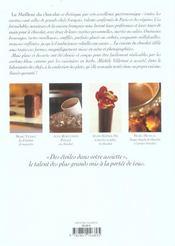 Le meilleur du chocolat - 4ème de couverture - Format classique
