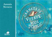 Carnets de voyage, mode d'emploi - Couverture - Format classique