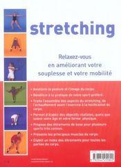 Stretching Pour La Sante - 4ème de couverture - Format classique