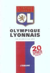 L'olympique lyonnais, un club a la une - Intérieur - Format classique