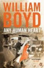 Vente  Any human heart  - William Boyd
