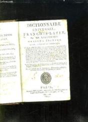 DICTIONNAIRE UNIVERSEL FRANCOIS LATIN . 11em EDITION. - Couverture - Format classique