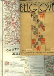 CARTE ROUTIERE DE BELGIQUE. ECHELLE 320.000e - Couverture - Format classique