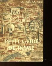 PETIT GUIDE DE ROME POUR LES PELERINS DU 25ème JUBILE - Couverture - Format classique