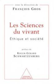 Sciences Du Vivant - Couverture - Format classique