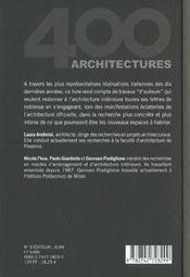 Maisons De Createurs - 4ème de couverture - Format classique