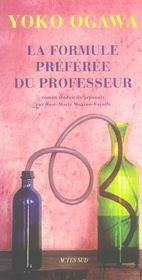 La Formule Preferee Du Professeur - Intérieur - Format classique