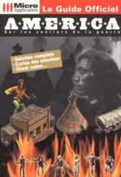 Le livre officiel america - Couverture - Format classique