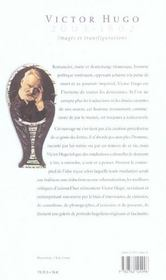 Victor hugo 2003-1802 ; images et transfigurations - 4ème de couverture - Format classique