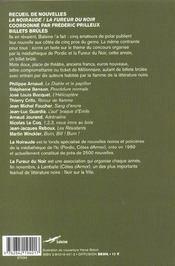 Billets Brules - 4ème de couverture - Format classique