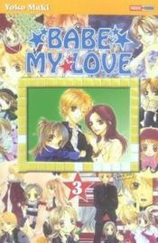 Babe my love t.3 - Couverture - Format classique