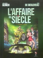 Affaire Du Siecle T2 Vampire A Louer - Intérieur - Format classique