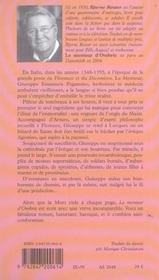 Le Menteur D'Ombrie - 4ème de couverture - Format classique