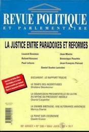 Rpp T.988 Mai-Juin 1997 ; Justice - Couverture - Format classique