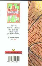 Slam Dunk T27 - 4ème de couverture - Format classique