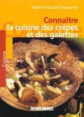 Connaître la cuisine des crêpes et des galettes - Intérieur - Format classique