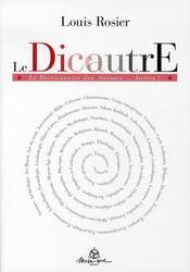 Dicautre ; dictionnaire des autres savoirs - Intérieur - Format classique