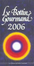 Le Bottin Gourmand 2006 - Intérieur - Format classique
