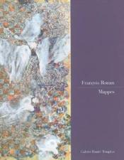 Francois rouan mappes - Couverture - Format classique