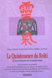 La quintescence du reiki - Intérieur - Format classique