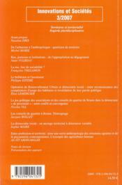 Territoires et territorialité ; regards pluridisciplinaires - 4ème de couverture - Format classique