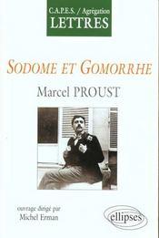 Sodome Et Gomorrhe Marcel Proust - Intérieur - Format classique