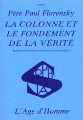 Colonne Et Le Fondement De La Verite (La) - Couverture - Format classique