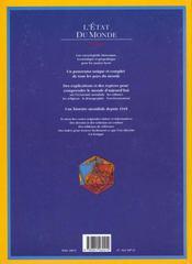 L'Etat Du Monde - 4ème de couverture - Format classique