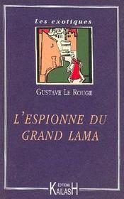 L'Espionne Du Grand Lama - Intérieur - Format classique