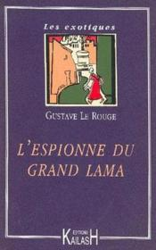 L'Espionne Du Grand Lama - Couverture - Format classique