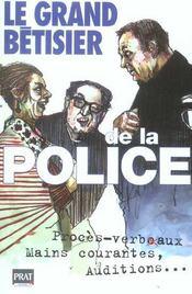 Le Grand Betisier De La Police - Intérieur - Format classique
