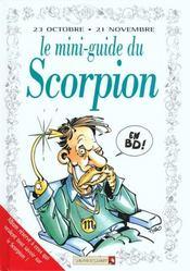 Les mini-guides en bd t.28 ; le mini-guide astro du scorpion - Intérieur - Format classique