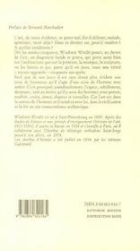 Les Abeilles D'Aristee - 4ème de couverture - Format classique